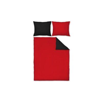 Pościel Maco-Jersey Dwukolorowa (czarno czerwona). Komplet 3 częściowy - Dream Line
