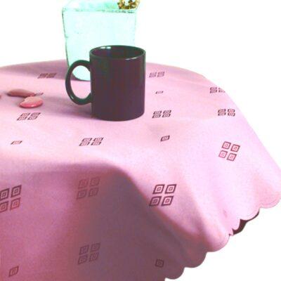 Różowy obrus plamoodporny - wzór latawiec