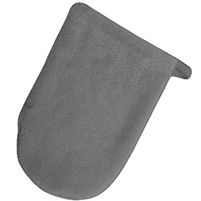 Serviette de bain - tissu éponge - gris foncé ( 34C )