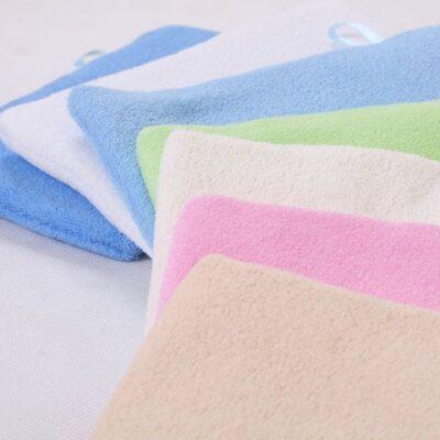Serviette de bain - tissu éponge - rouge ( 16 )